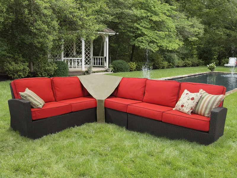 Outdoor Sectional Sofa Covers - Center Pieces | Patio ...