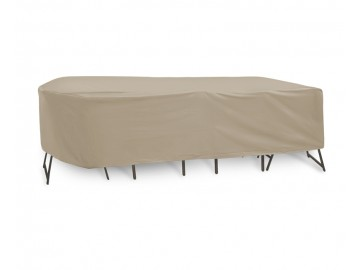 Oval/Rectangular Table and Chairs Combo Covers
