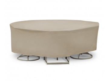 Round Bar Table and Chairs Combo Covers